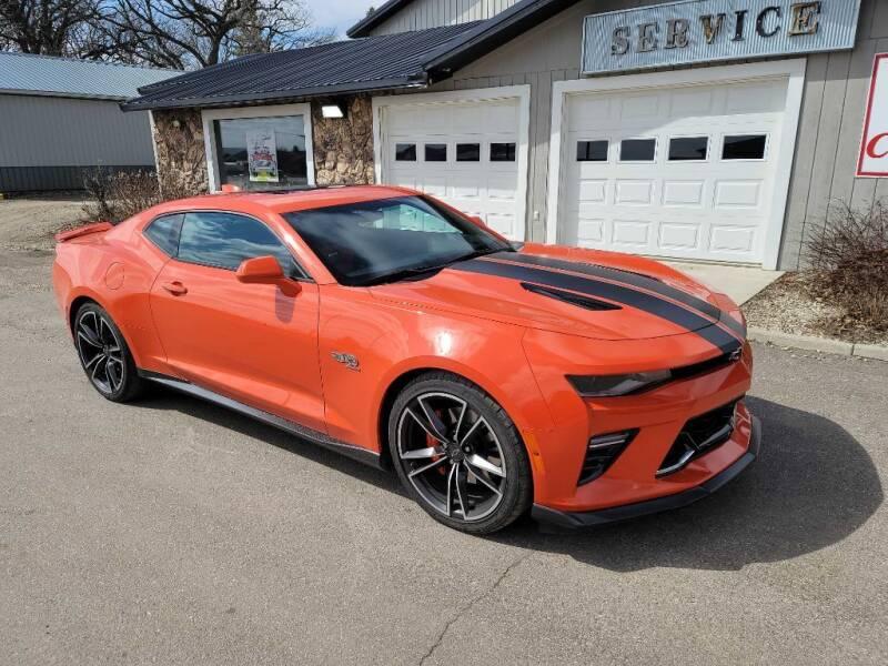 2018 Chevrolet Camaro for sale at CRUZ'N MOTORS - Classics in Spirit Lake IA