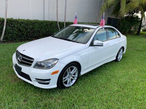 2014 Mercedes-Benz C-Class for sale at Ven-Usa Autosales Inc in Miami FL