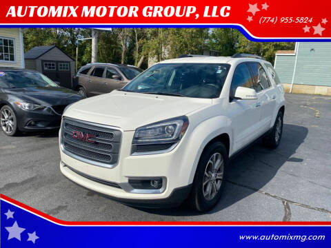 2015 GMC Acadia for sale at AUTOMIX MOTOR GROUP, LLC in Swansea MA