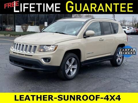2017 Jeep Compass for sale at Vicksburg Chrysler Dodge Jeep Ram in Vicksburg MI