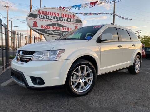 2013 Dodge Journey for sale at Arizona Drive LLC in Tucson AZ