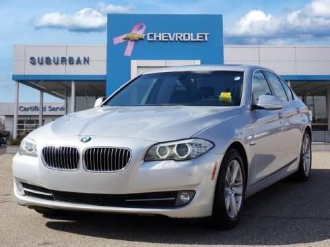 2013 BMW 5 Series for sale at Suburban Chevrolet of Ann Arbor in Ann Arbor MI