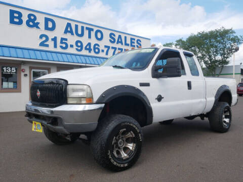 1999 Ford F-250 Super Duty for sale at B & D Auto Sales Inc. in Fairless Hills PA