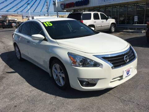 2015 Nissan Altima for sale at I-80 Auto Sales in Hazel Crest IL