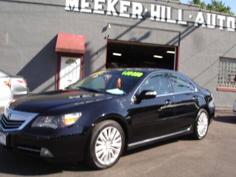 2011 Acura RL for sale at Meeker Hill Auto Sales in Germantown WI