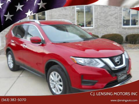 2017 Nissan Rogue for sale at C.J. Lensing Motors Inc in Decorah IA