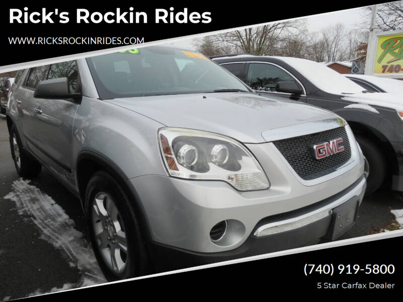 2010 GMC Acadia for sale at Rick's Rockin Rides in Reynoldsburg OH