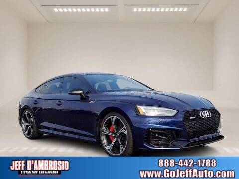 2019 Audi RS 5 Sportback for sale at Jeff D'Ambrosio Auto Group in Downingtown PA