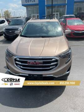 2018 GMC Terrain for sale at COYLE GM - COYLE NISSAN in Clarksville IN