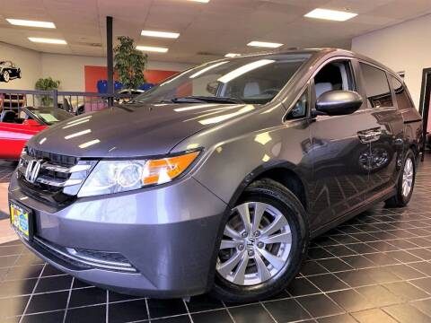 2014 Honda Odyssey for sale at SAINT CHARLES MOTORCARS in Saint Charles IL