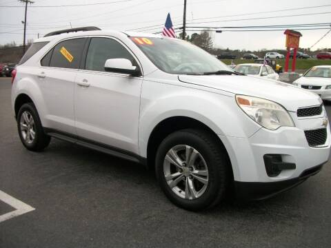 2010 Chevrolet Equinox for sale at Lentz's Auto Sales in Albemarle NC
