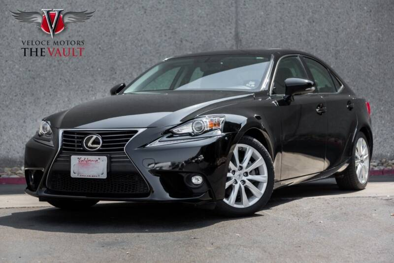 2015 Lexus IS 250 for sale at Veloce Motors in San Diego CA