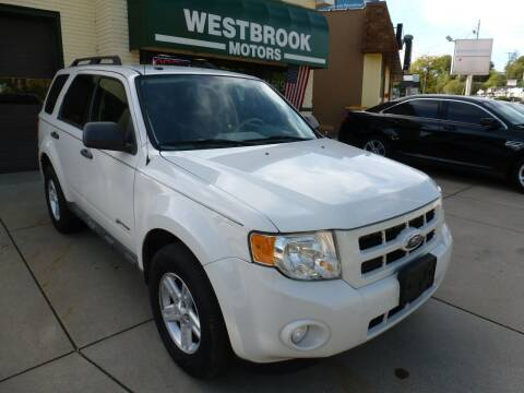 2009 Ford Escape Hybrid for sale at Westbrook Motors in Grand Rapids MI
