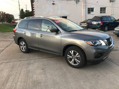 2020 Nissan Pathfinder for sale at DALE'S PREOWNED AUTO SALES INC in Moundsville WV