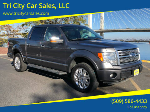2012 Ford F-150 for sale at Tri City Car Sales, LLC in Kennewick WA