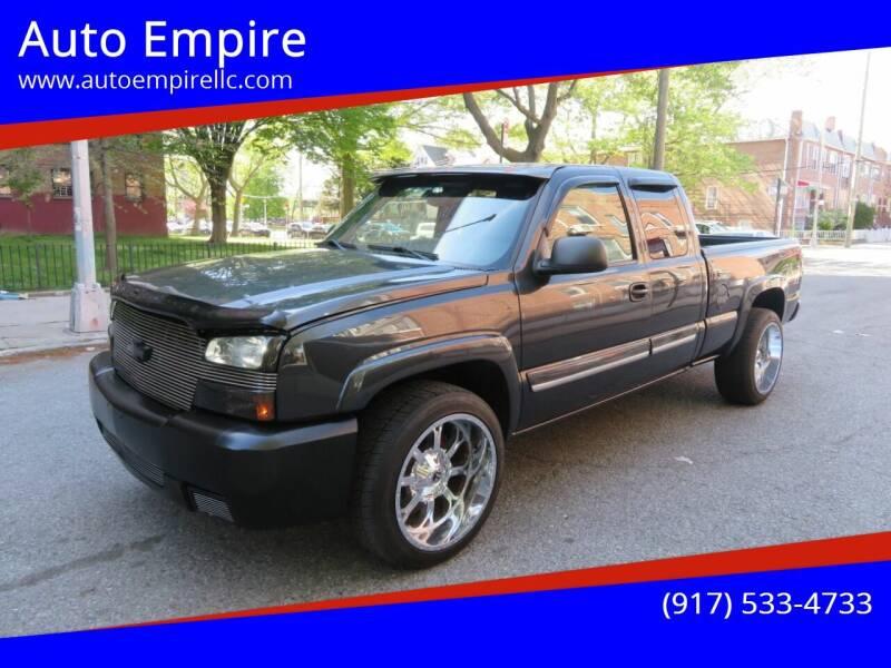 2004 Chevrolet Silverado 1500 for sale at Auto Empire in Brooklyn NY