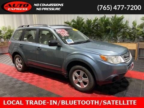 2013 Subaru Forester for sale at Auto Express in Lafayette IN