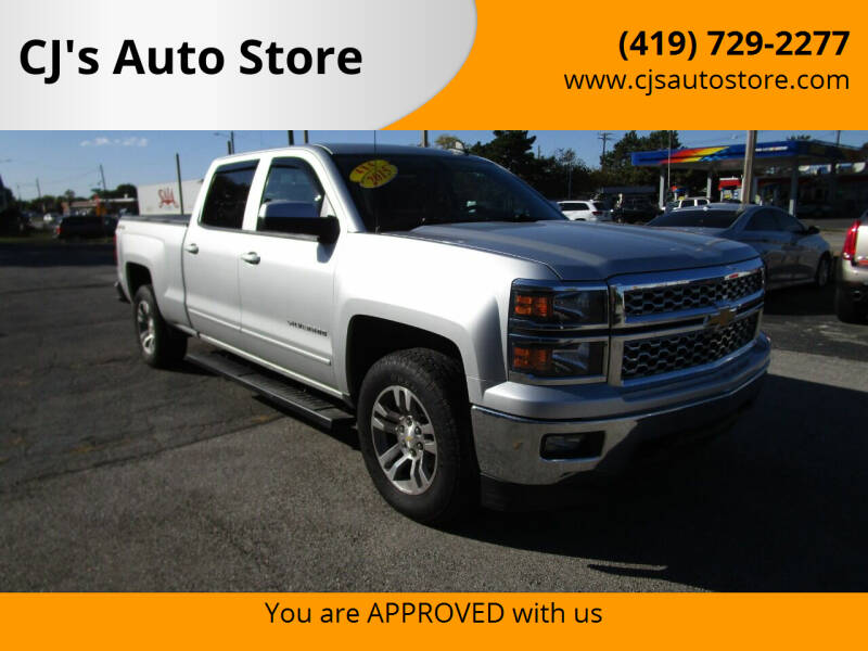 2015 Chevrolet Silverado 1500 for sale at CJ's Auto Store in Toledo OH