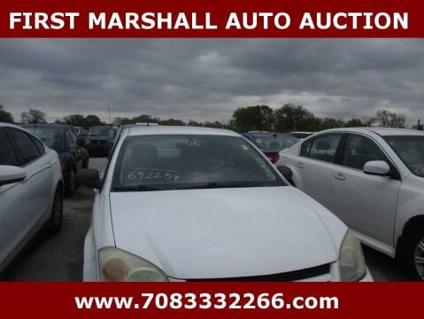 2006 Chevrolet Cobalt for sale at First Marshall Auto Auction in Harvey IL