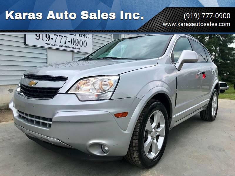 2014 Chevrolet Captiva Sport for sale at Karas Auto Sales Inc. in Sanford NC