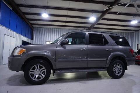 2007 Toyota Sequoia for sale at SOUTHWEST AUTO CENTER INC in Houston TX