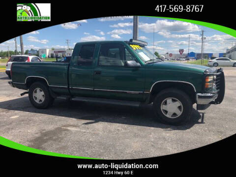 1999 GMC Sierra 1500 Classic for sale at Auto Liquidation in Springfiled MO