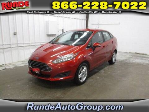 2018 Ford Fiesta for sale at Runde PreDriven in Hazel Green WI