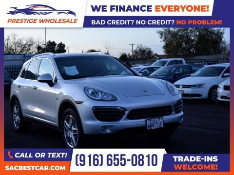 2012 Porsche Cayenne for sale at Prestige Wholesale in Sacramento CA