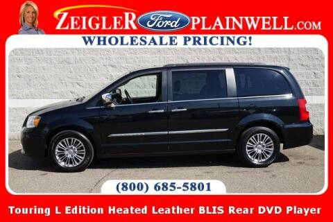 2013 Chrysler Town and Country for sale at Zeigler Ford of Plainwell- Jeff Bishop in Plainwell MI