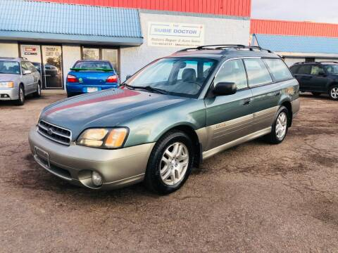 2001 Subaru Outback for sale at The Subie Doctor in Denver CO