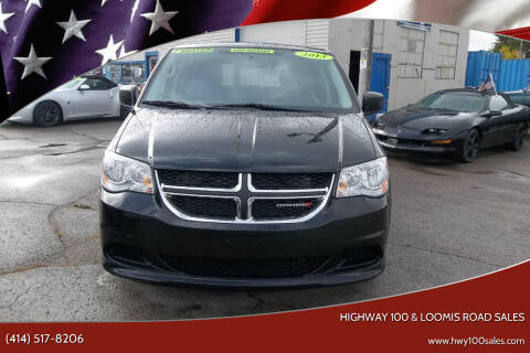 2013 Dodge Grand Caravan for sale at Highway 100 & Loomis Road Sales in Franklin WI
