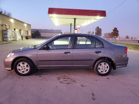 2005 Honda Civic for sale at Dakota Auto Inc. in Dakota City NE