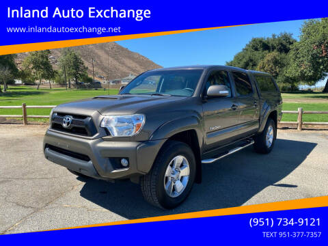 2014 Toyota Tacoma for sale at Inland Auto Exchange in Norco CA