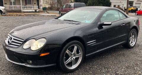 2004 Mercedes-Benz SL-Class for sale at Mayer Motors of Pennsburg in Pennsburg PA