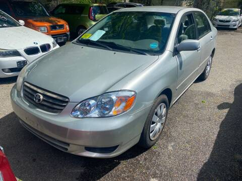 2004 Toyota Corolla for sale at Polonia Auto Sales and Service in Hyde Park MA