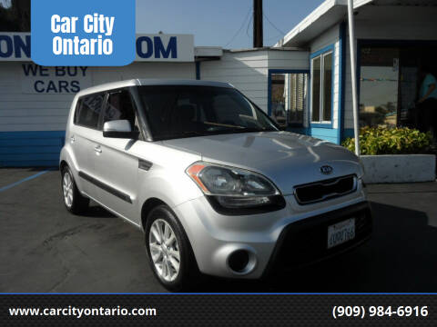 2012 Kia Soul for sale at Car City Ontario in Ontario CA