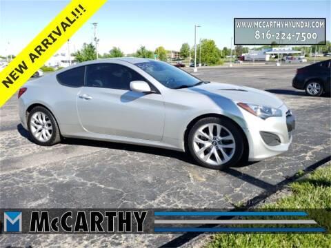2013 Hyundai Genesis Coupe for sale at Mr. KC Cars - McCarthy Hyundai in Blue Springs MO