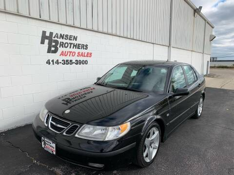 2005 Saab 9-5 for sale at HANSEN BROTHERS AUTO SALES in Milwaukee WI