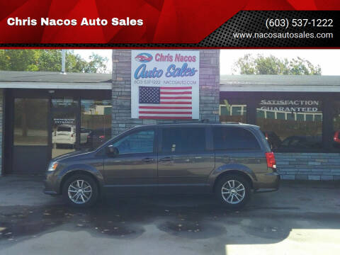 2015 Dodge Grand Caravan for sale at Chris Nacos Auto Sales in Derry NH