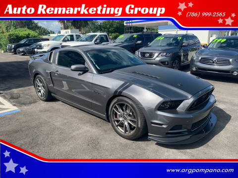 2014 Ford Mustang for sale at Auto Remarketing Group in Pompano Beach FL