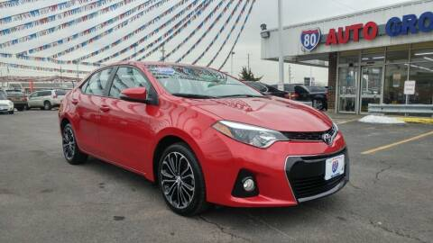 2014 Toyota Corolla for sale at I-80 Auto Sales in Hazel Crest IL