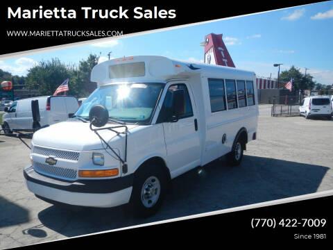2012 Chevrolet Express Cutaway for sale at Marietta Truck Sales in Marietta GA