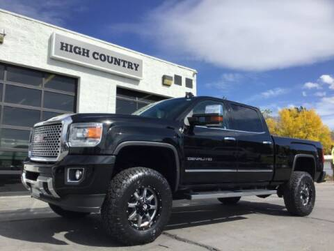 2015 GMC Sierra 3500HD for sale at High Country Motor Co in Lindon UT