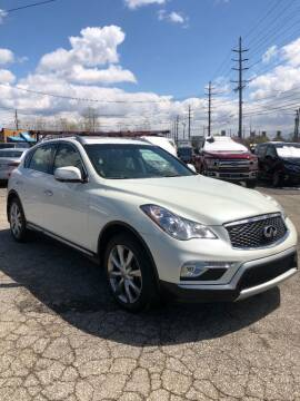 2017 Infiniti QX50 for sale at 1st Class Imports LLC in Cleveland OH
