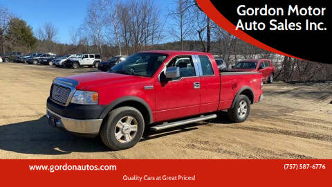2006 Ford F-150 for sale at Gordon Motor Auto Sales Inc. in Norfolk VA