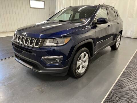 2018 Jeep Compass for sale at Monster Motors in Michigan Center MI