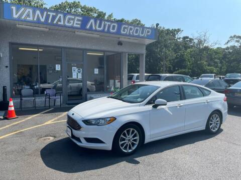 2017 Ford Fusion for sale at Vantage Auto Group in Brick NJ