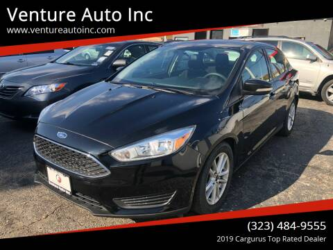 2015 Ford Focus for sale at Venture Auto Inc in South Gate CA
