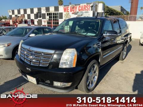 2009 Cadillac Escalade ESV for sale at BaySide Auto in Wilmington CA