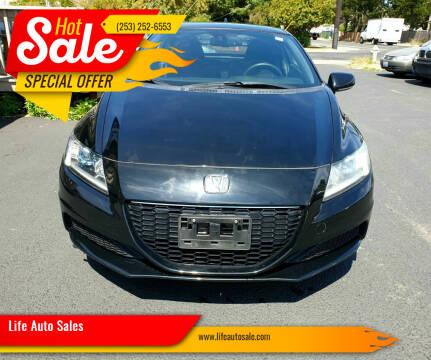 2015 Honda CR-Z for sale at Life Auto Sales in Tacoma WA